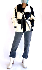 Black & White Rabbit Jacket