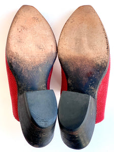 Red Stingray Western Mules
