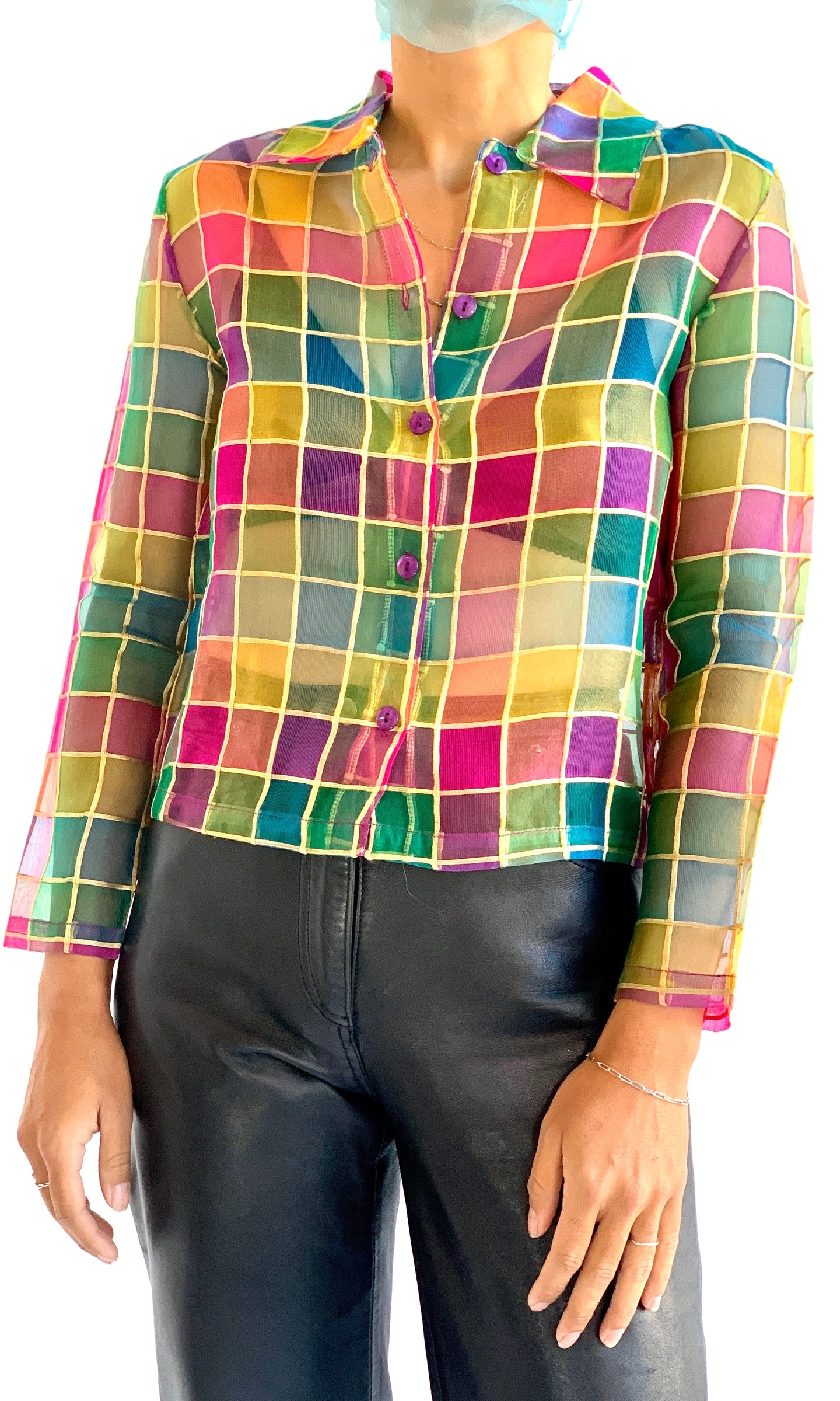 Stained Glass Silk Blouse