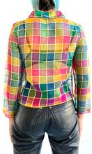 Load image into Gallery viewer, Stained Glass Silk Blouse