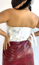 Load image into Gallery viewer, White Adjustable Corset