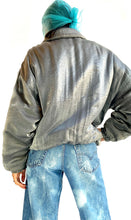 Load image into Gallery viewer, Puffy Silver Jacket