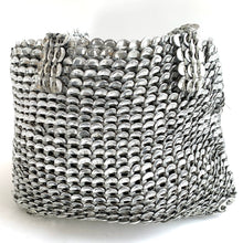 Load image into Gallery viewer, Aluminum Can Top Handmade Tote