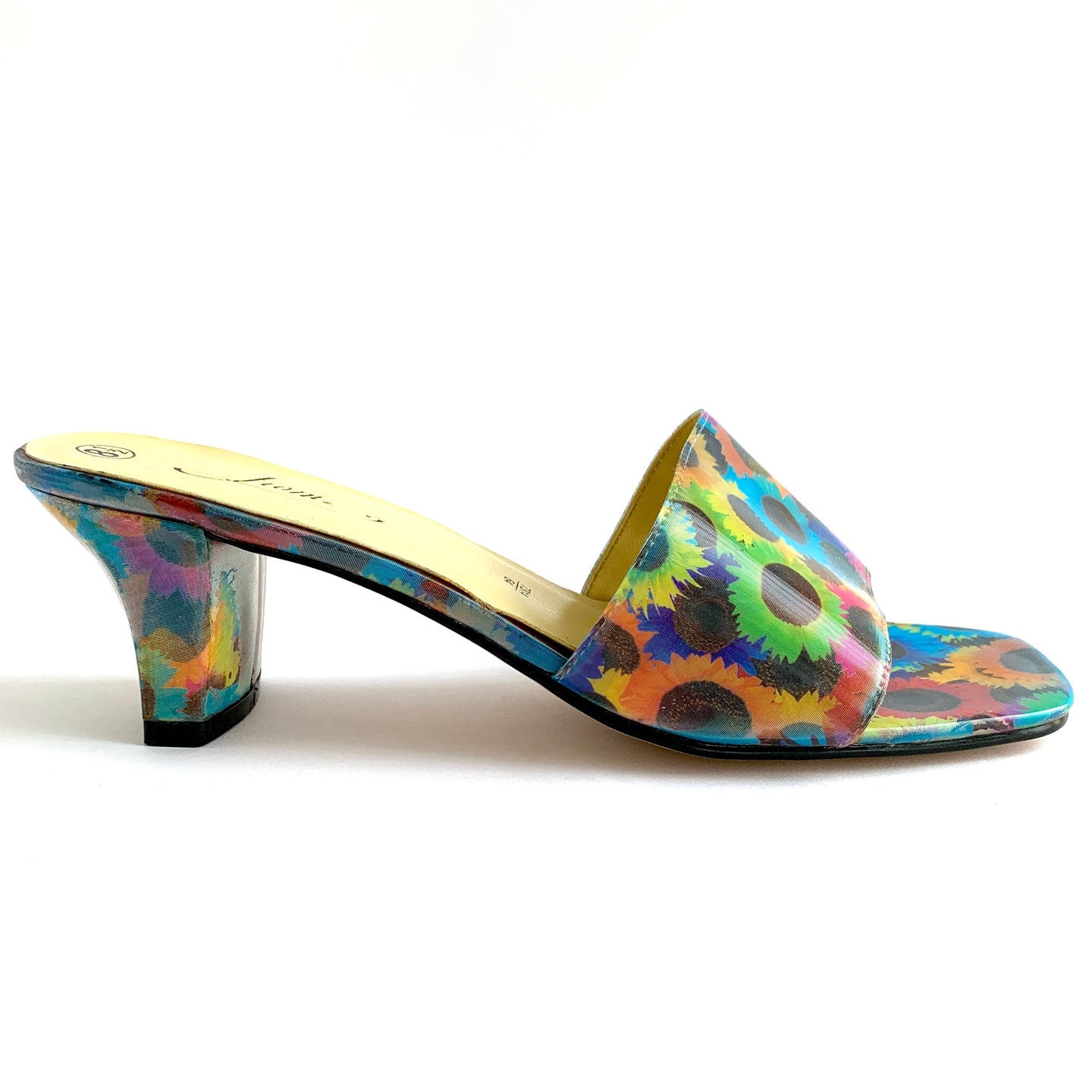 90's Dead-Stock Holographic Butterfly Heels