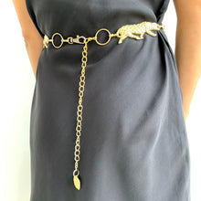 Load image into Gallery viewer, Cheetah Chain Belt