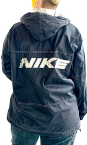 90s NIKE Contrast Stitch Half Zip Windbreaker