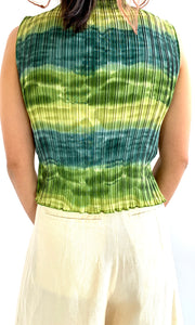 Watercolor Pleated Turletank