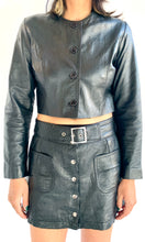Load image into Gallery viewer, Vintage Chopped Unlined Leather Jacket