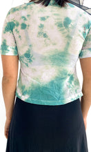 Load image into Gallery viewer, Custom Tie Dyed Mesh Blouse