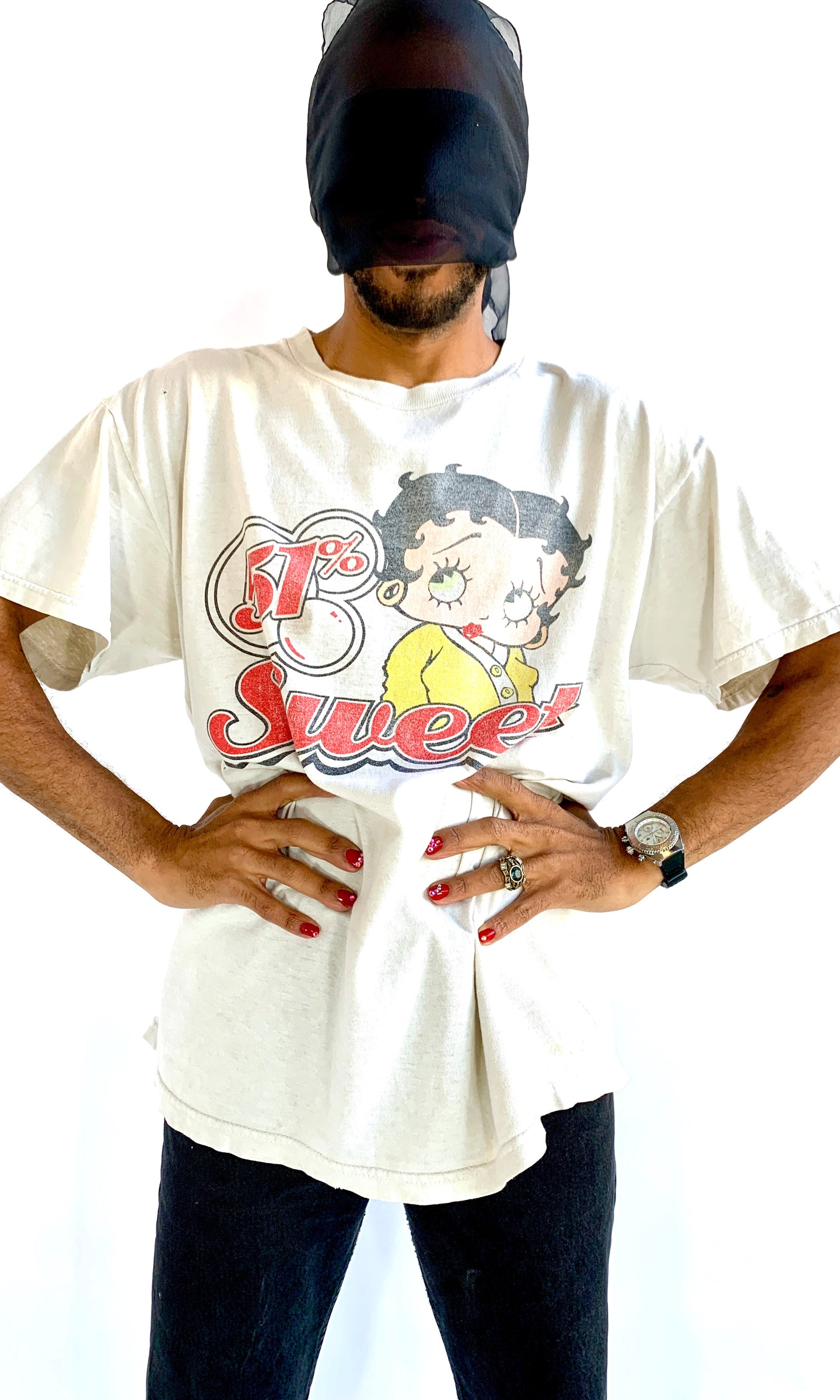 Betty Boop 49% Nasty T-Shirt