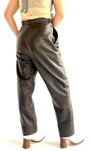Load image into Gallery viewer, Chocolate Brown Butter Soft Leather Pants