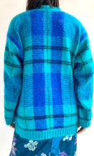 Load image into Gallery viewer, Plaid Mohair Sweater