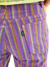 "Load image into Gallery viewer, 1960s Striped Big E ""Levi's for Gals Sta-Prest"" Trouser"