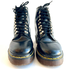 Load image into Gallery viewer, Dr. Martens Silver Lace Up Ankle Boots Made in England