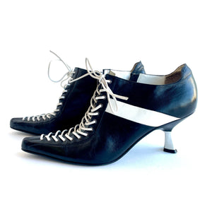 Pointy 00's Lace Up Heel