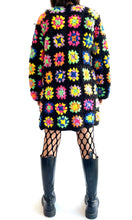 Load image into Gallery viewer, Granny Square Crochet Sweater