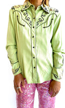 Load image into Gallery viewer, Sage Western Shirt