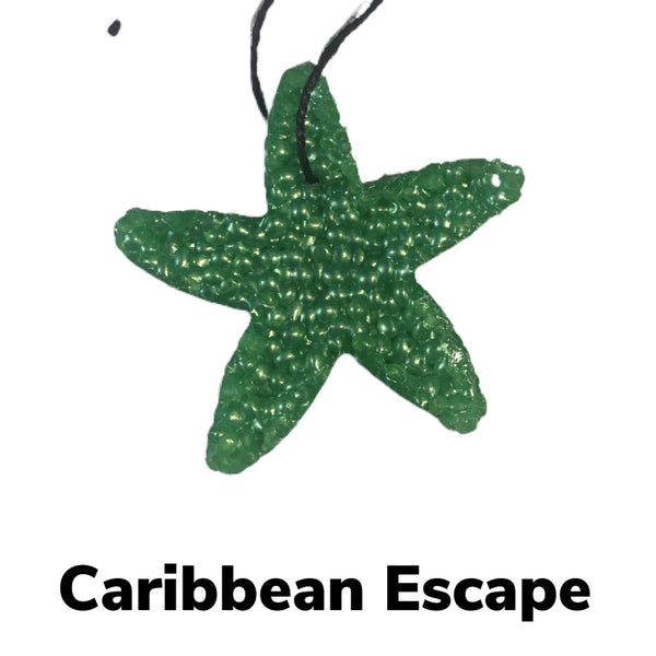 Caribbean Escape Car Freshie