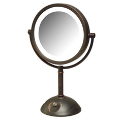 8 5 Quot 8x 1x Led Lighted Mirror Jerdon Style