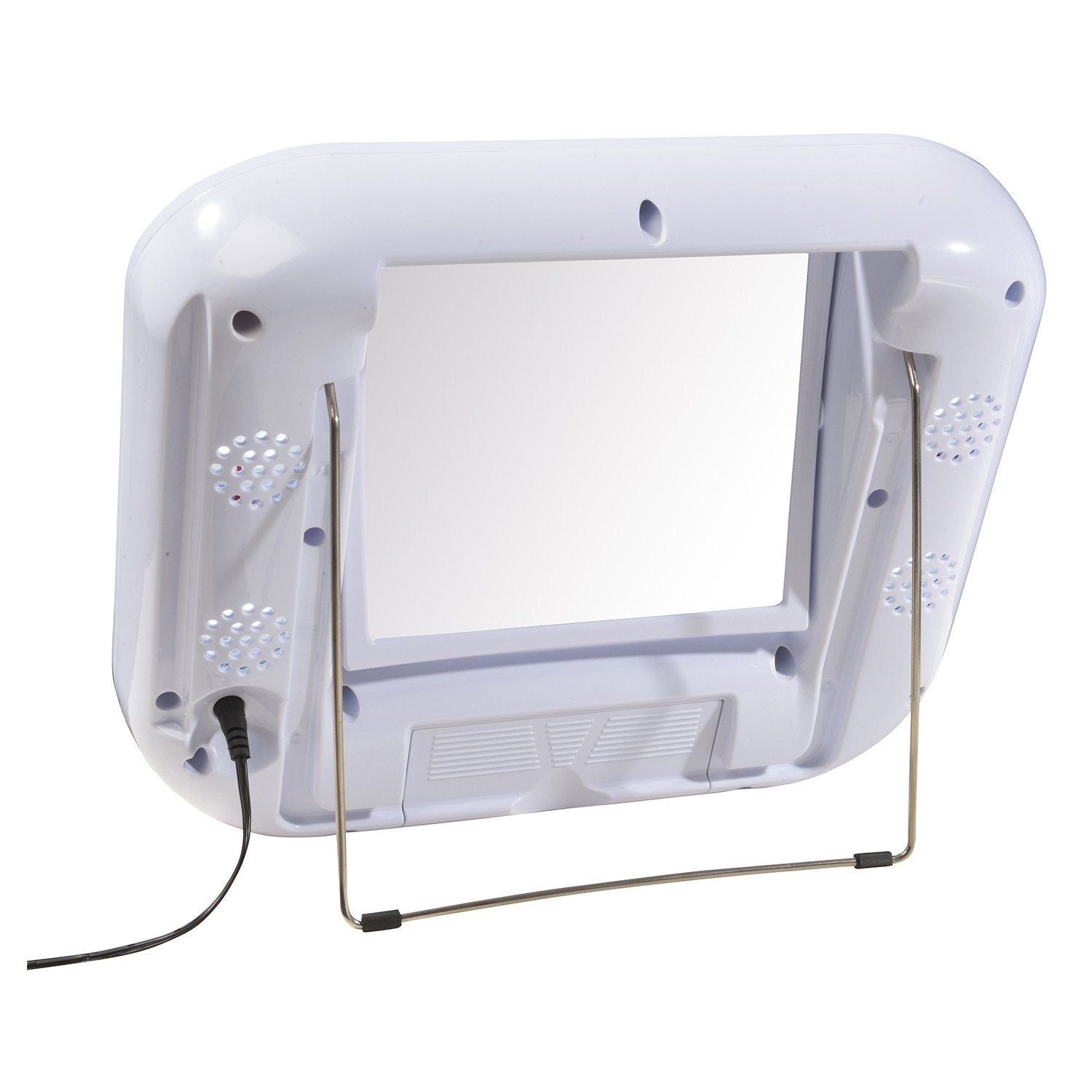 Sharper Imageled Lighted Mirror With Bluetooth Jerdon Style