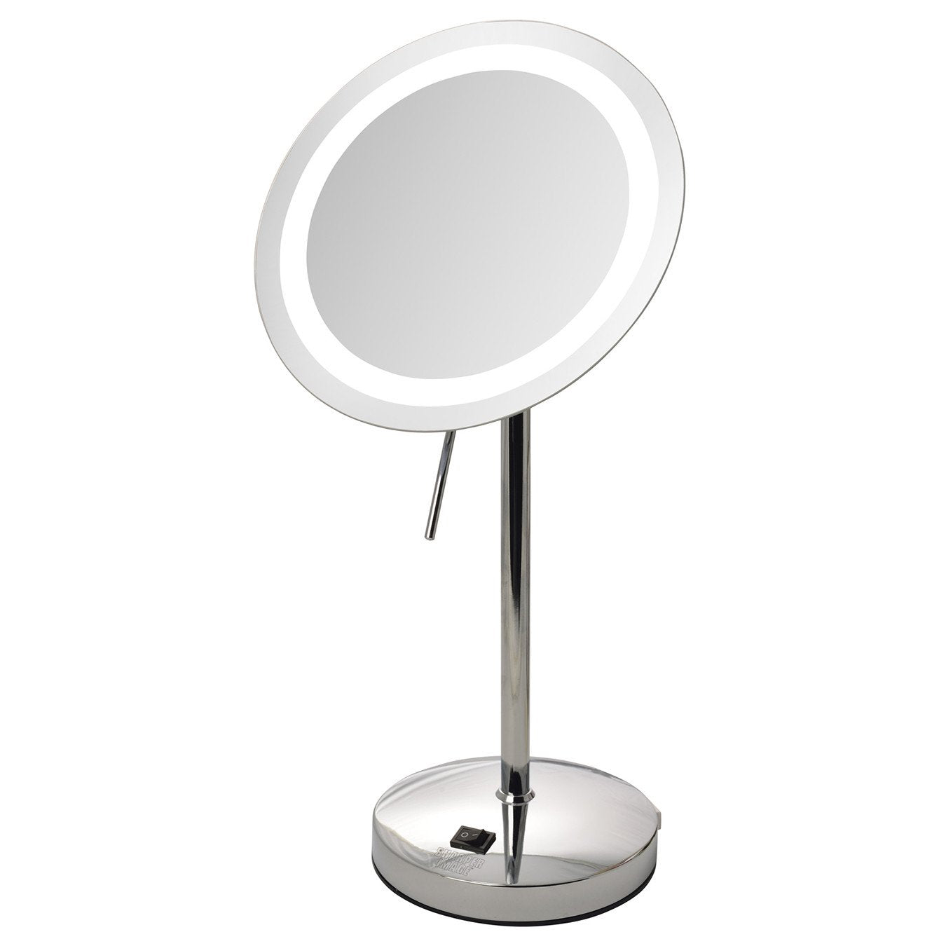 Sharper Image 8 5 Quot 8x Led Lighted Mirror Jerdon Style