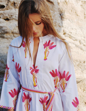Pink City Prints Kaftan