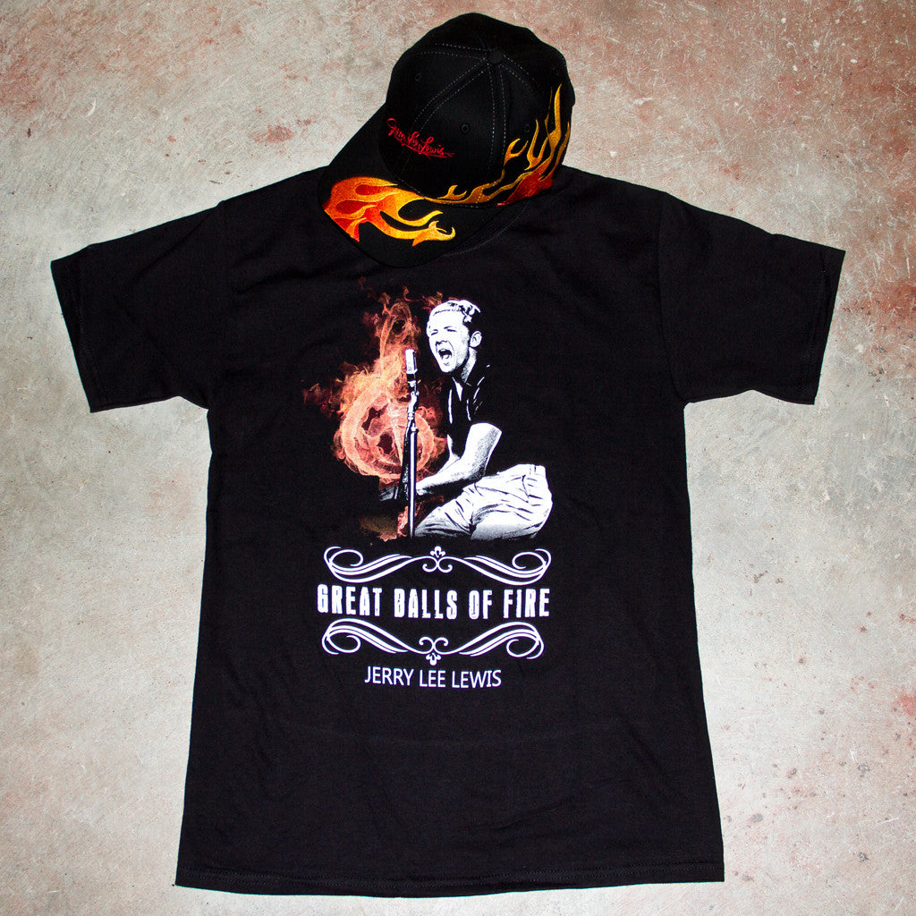 Combo Pack - Hat & Black Tee Shirt