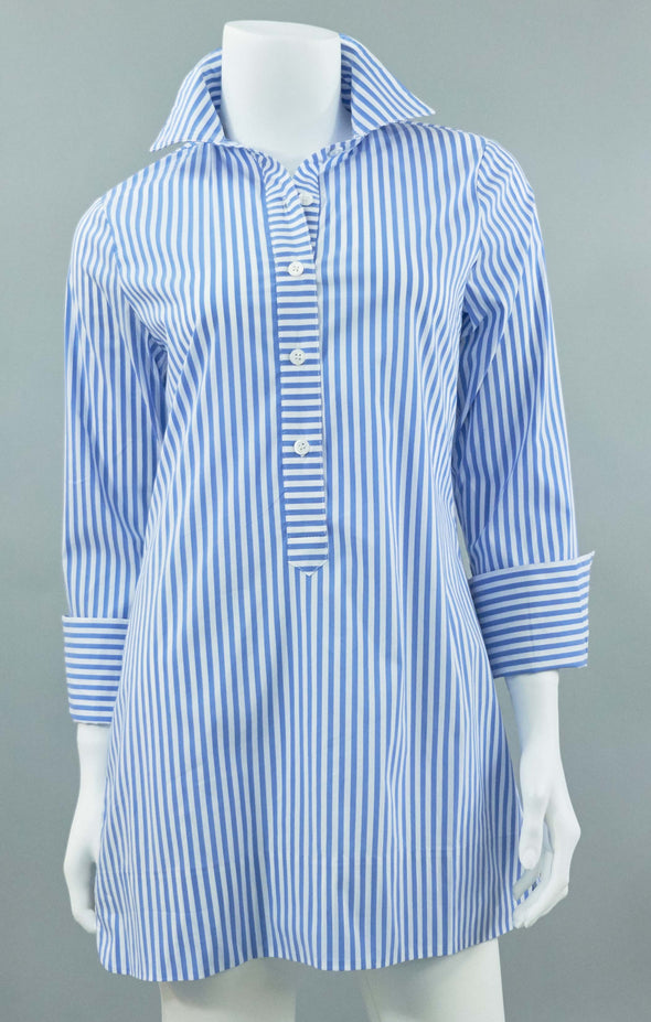 Ivy Tunic - Royal Stripe