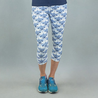 Lotus Legging - Egret Blue