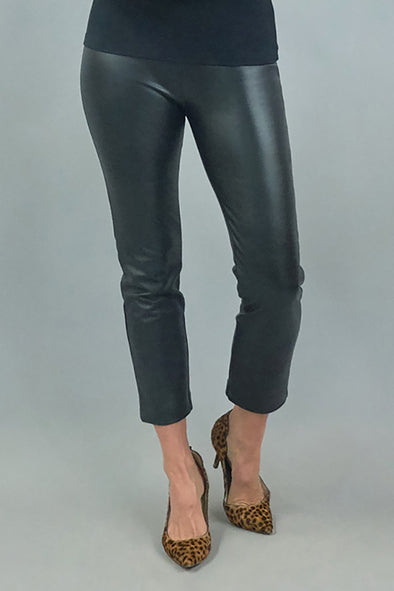 Swizzle Pant - Black Pleather
