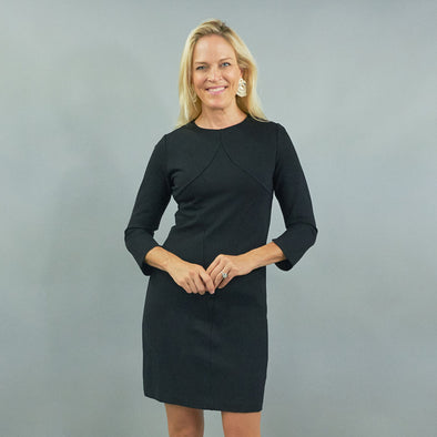 Bond Dress - Solid Ponte
