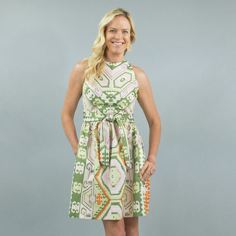 Darden Dress - Kilim Fern