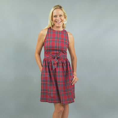 Darden Dress - Royal Stewart
