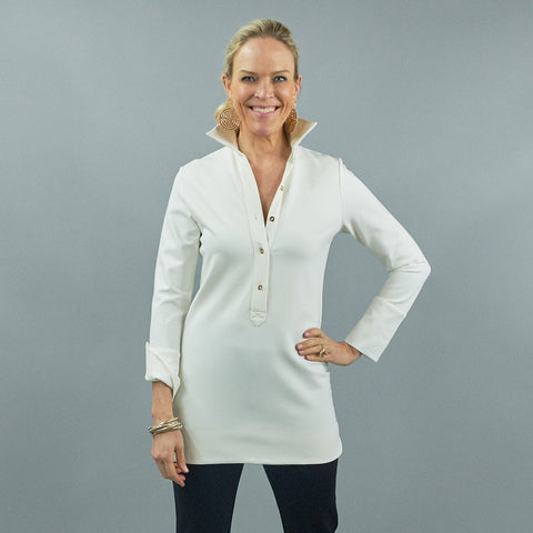 Ivy Tunic - Solid Ponte