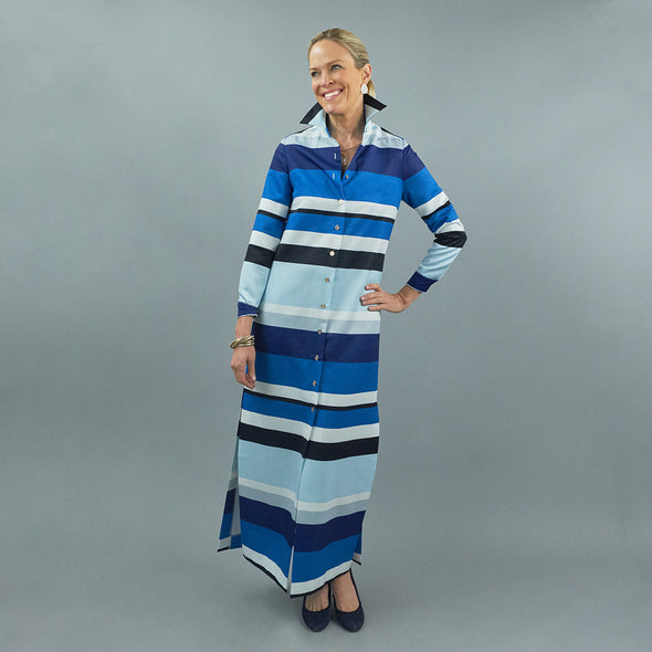 Monteith Caftan - Lexington Stripe