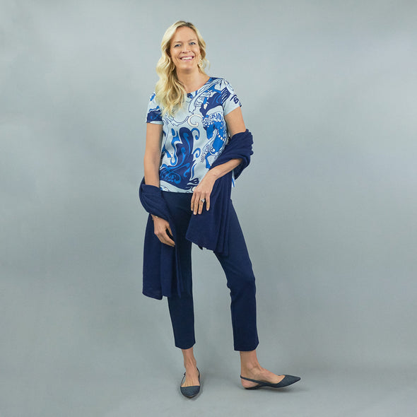Regatta Top - Nouveau Blue