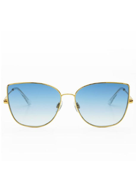 FREYRS Emma Gold with Blue Lens