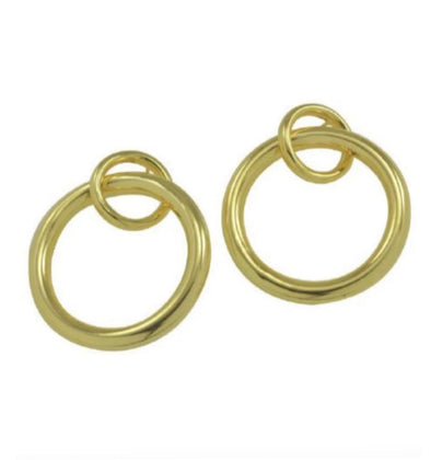 Betty Carre Interlocking Circle with Post Earring
