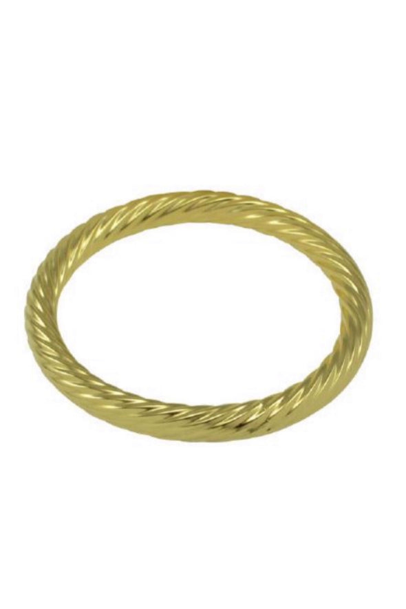 Betty Carre Twisted Gold Bangle