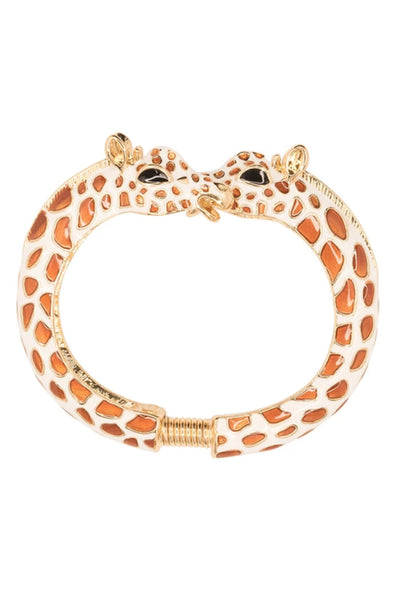 KJL Giraffe Print Bangle