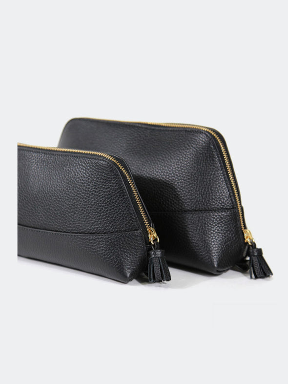 Neely & Chloe Leather Cosmetic Case