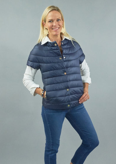 Patty Kim Audrey Short Sleeve Puffer