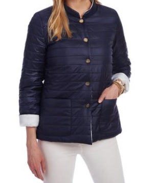 Patty Kim Kathy Puffer Jacket - Reversible