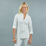 Tenley Shirt - Stretch Linen