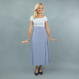 Sanibel Skirt - Navy Stripe