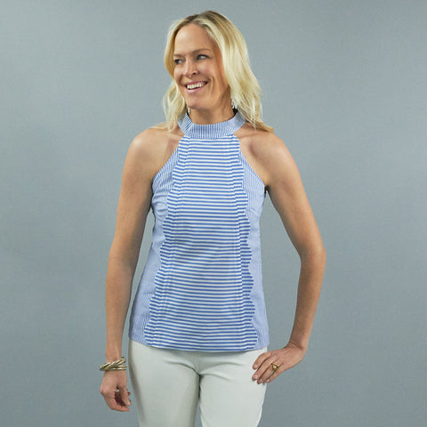 Tuileries Top - Stripe