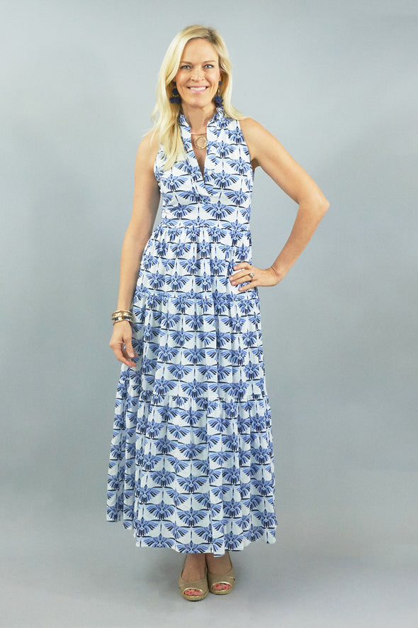 Birdie Dress - Egret Blue