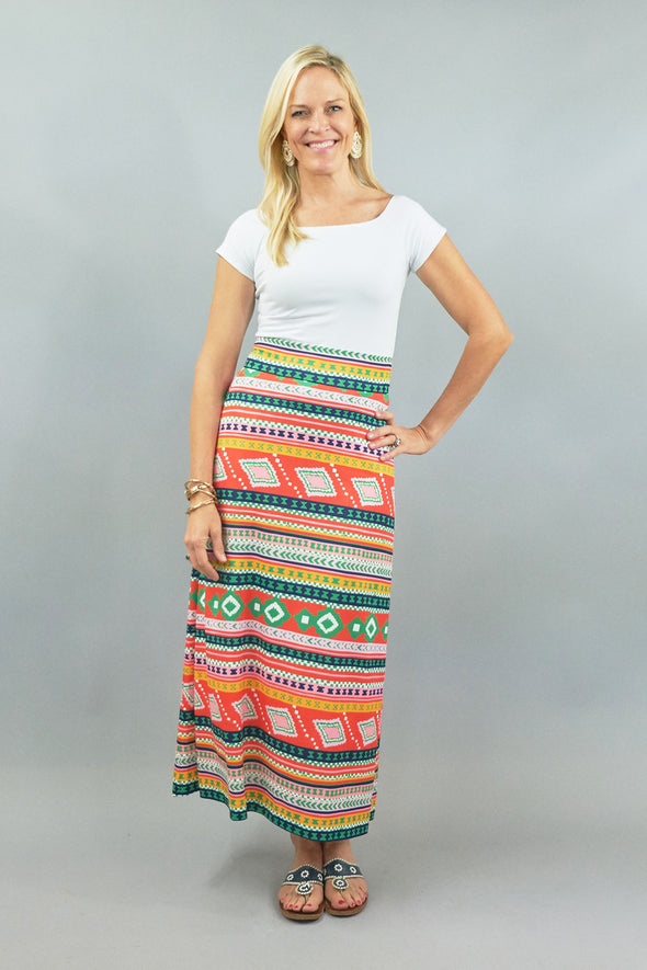 Sanibel Skirt - Egypt Multi