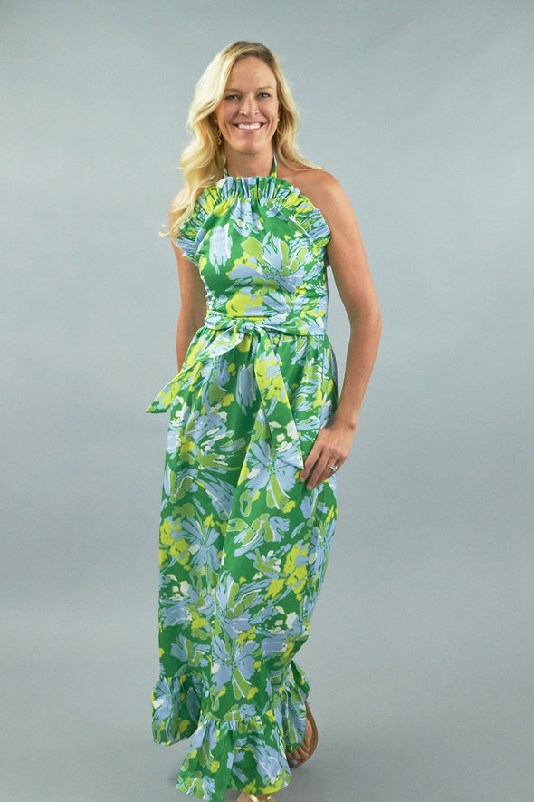 Dove Dress - High Tide Lime