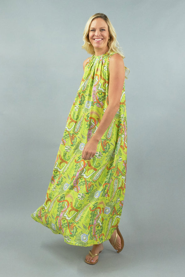 Grace Maxi - Paisley Yellow